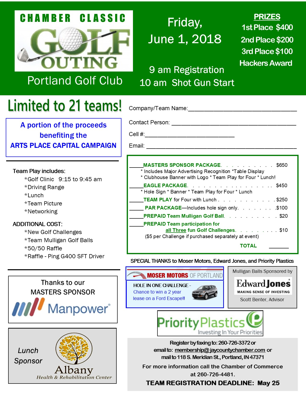 Golf Outing Flyer Updated